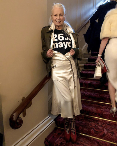 Vivienne Westwood in London